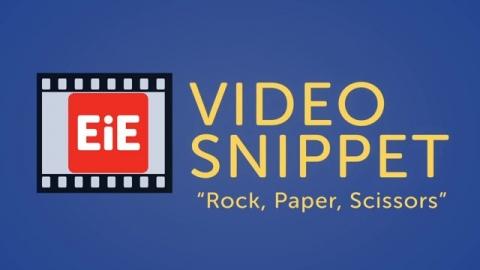 """""""Rock, Paper, Scissors"""""""