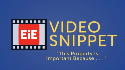 """""""This Property Is Important Because..."""""""